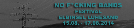 No F*cking Bands Festival 2014