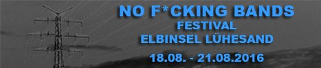 No F*cking Bands Festival 2016